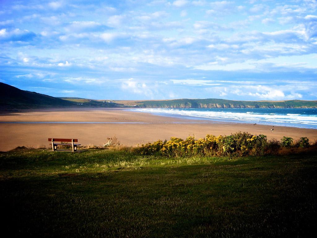 Пляж Вулакомб в Великобритании, фото 5