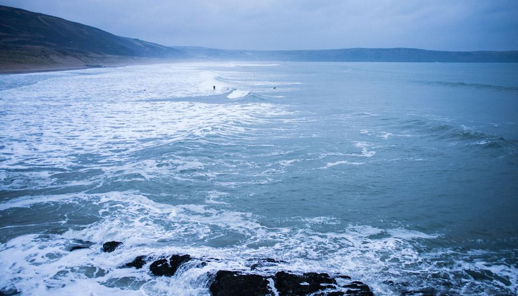 Пляж Вулакомб в Великобритании, фото 6