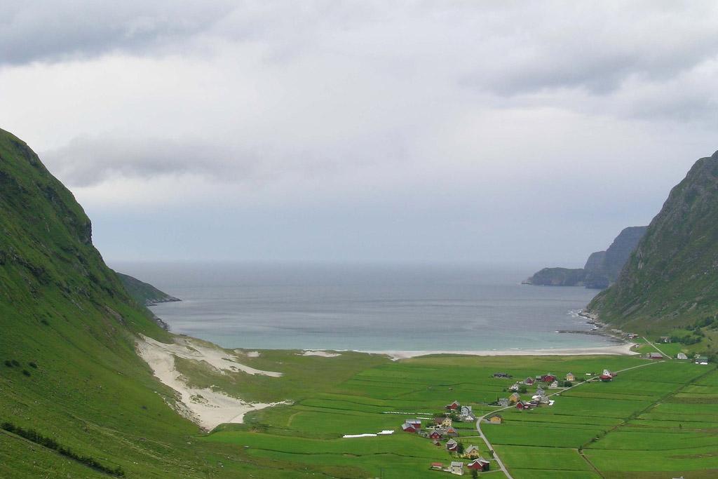 Пляж Ходдевик в Норвегии, фото 8