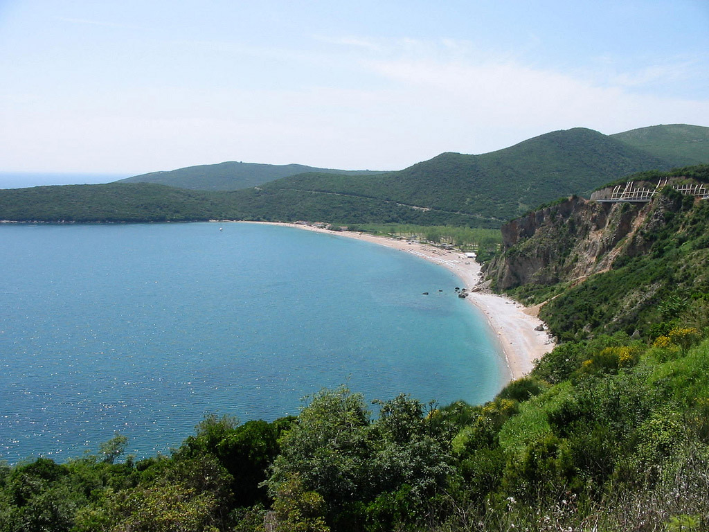 Пляж Яз в Черногории, фото 2