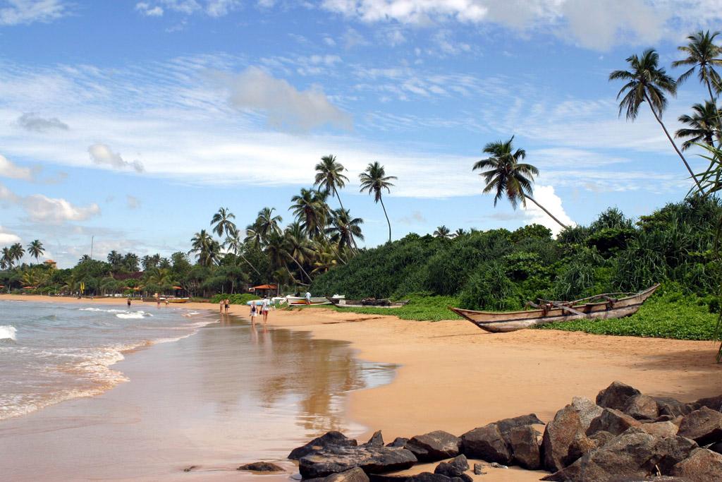 Пляж Бентота в Шри-Ланке, фото 1