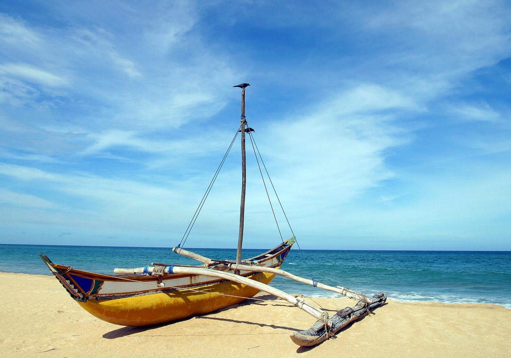 Пляж Бентота в Шри-Ланке, фото 6