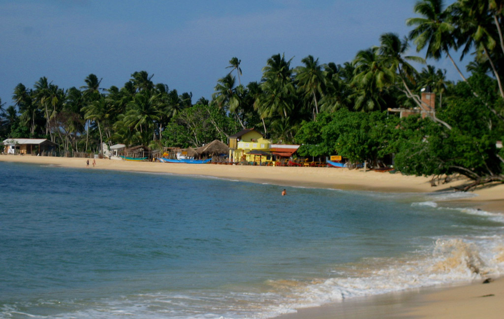 Пляж Бентота в Шри-Ланке, фото 12
