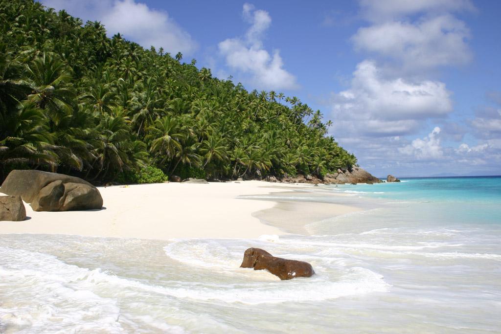 Пляж Фрегат на Сейшельских островах, фото 1
