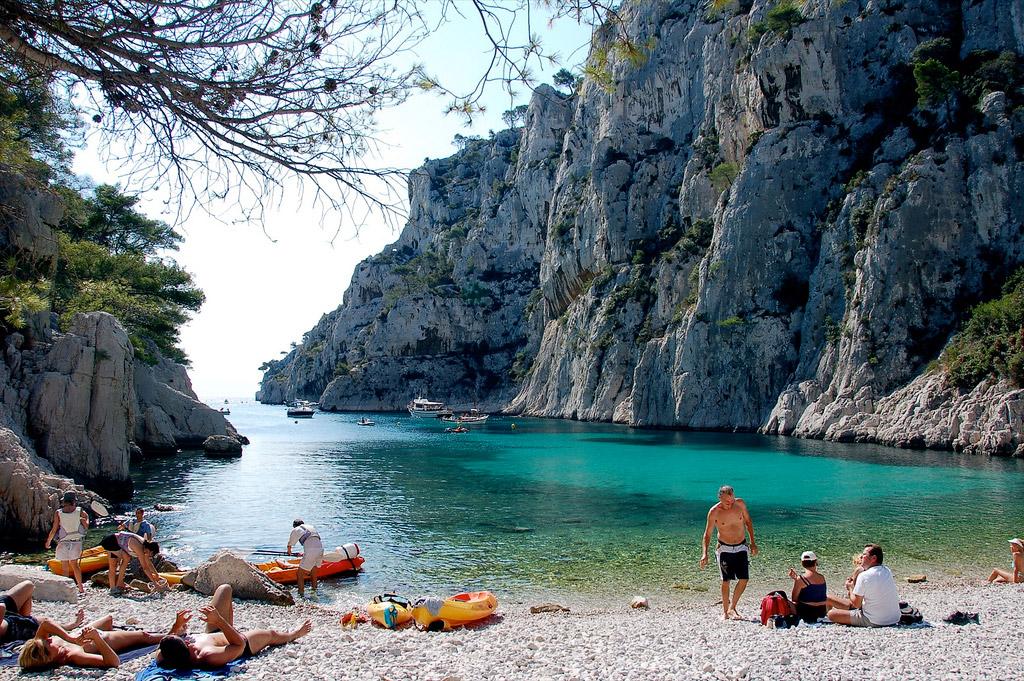Пляж Каланки во Франции, фото 1