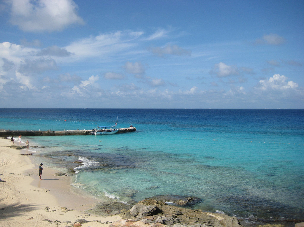Пляж Косумель в Мексике, фото 4