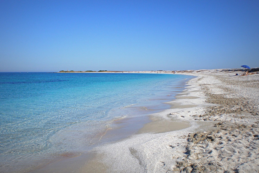 Пляж Мари Эрми в Италии, фото 1