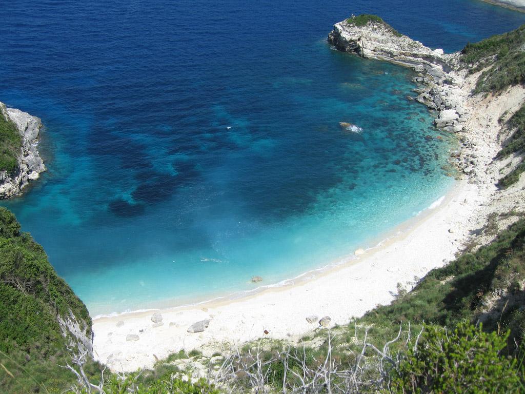 Пляж острова Паксос в Греции, фото 3