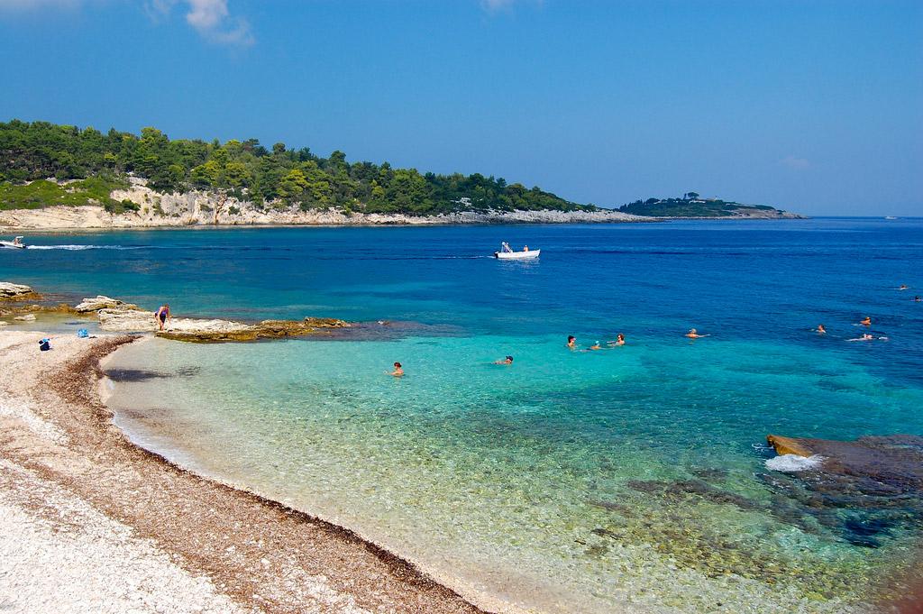 Пляж острова Паксос в Греции, фото 4