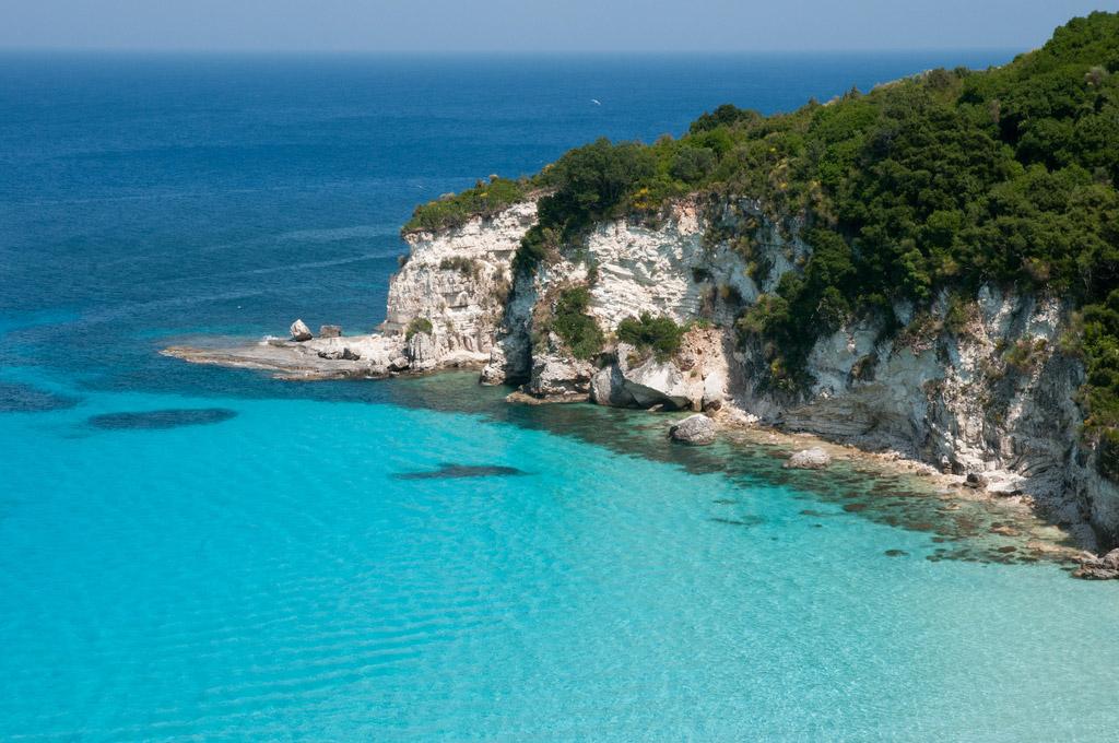 Пляж острова Паксос в Греции, фото 5