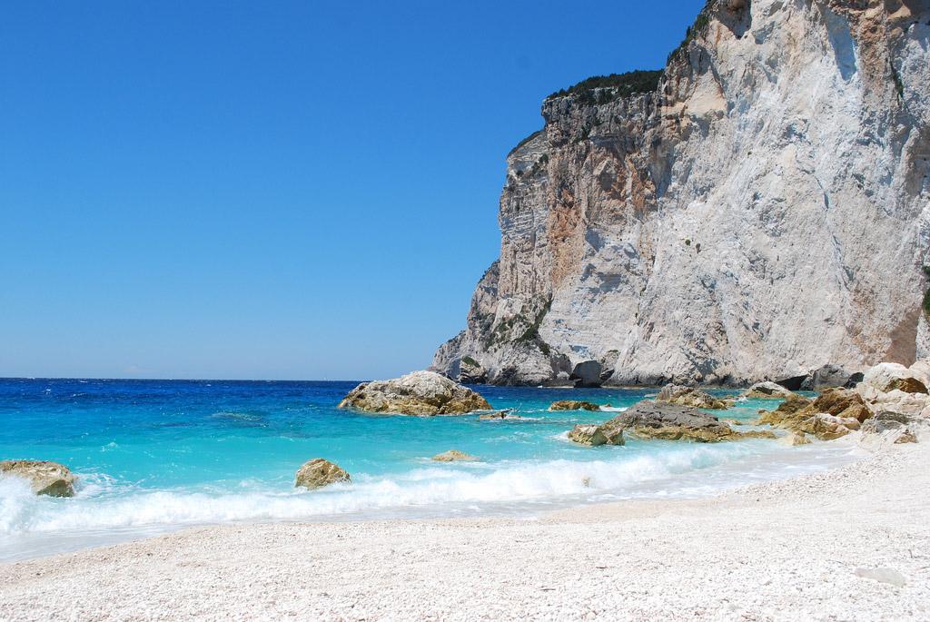 Пляж острова Паксос в Греции, фото 7
