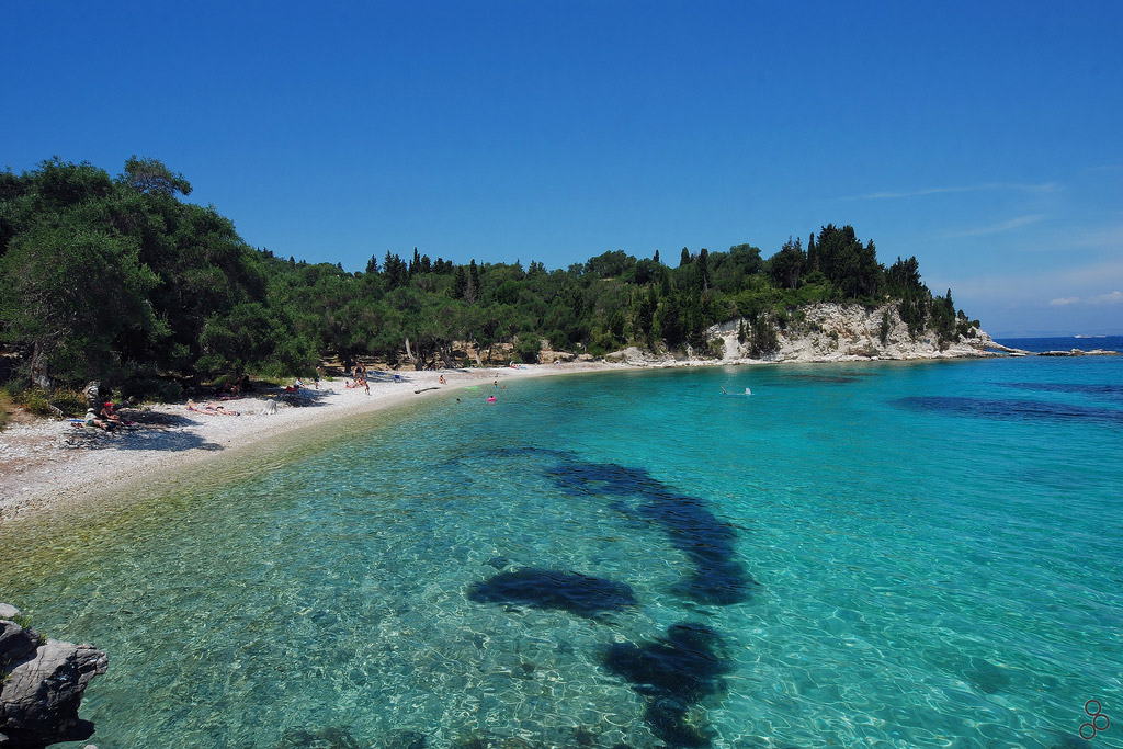 Пляж острова Паксос в Греции, фото 8