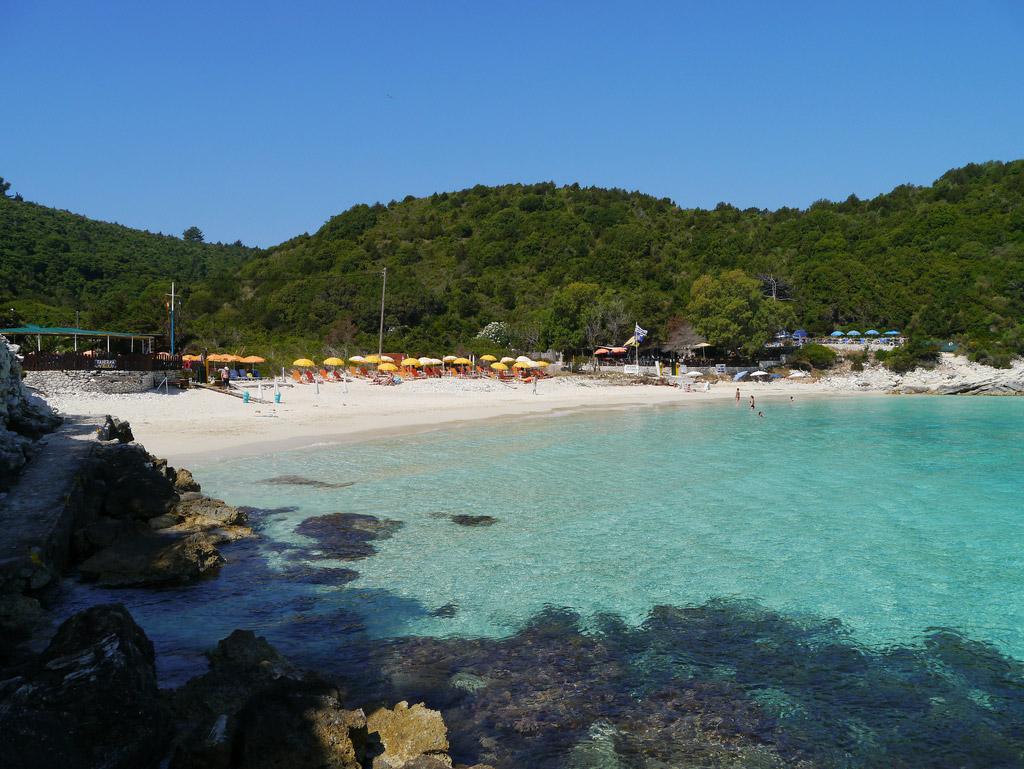Пляж острова Паксос в Греции, фото 9
