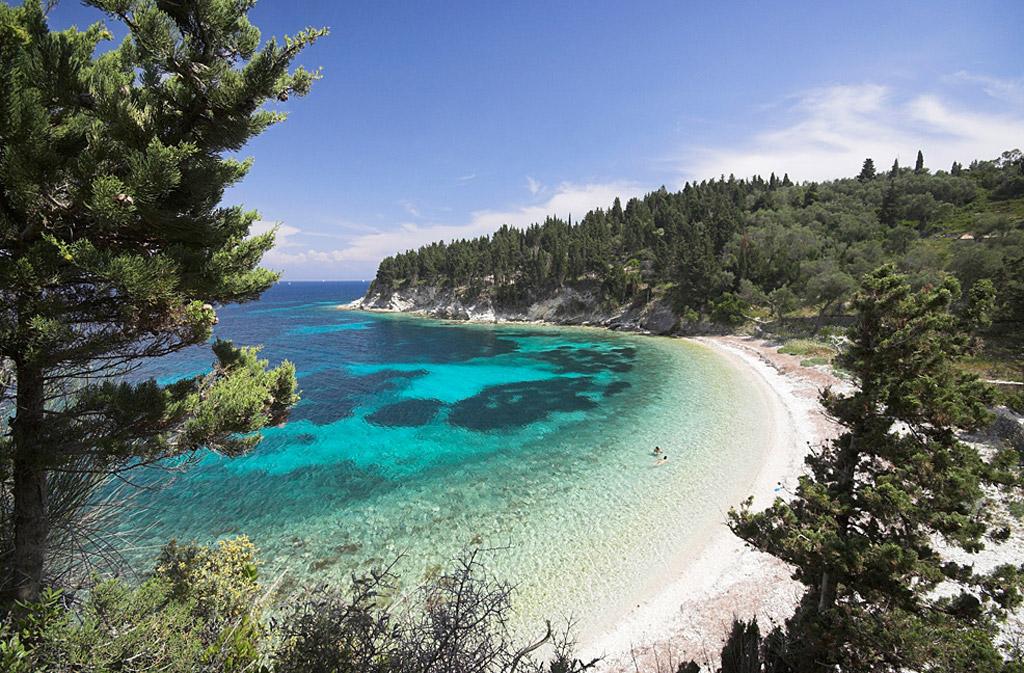 Пляж острова Паксос в Греции, фото 11