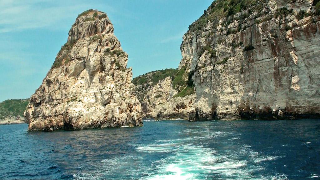 Пляж острова Паксос в Греции, фото 12