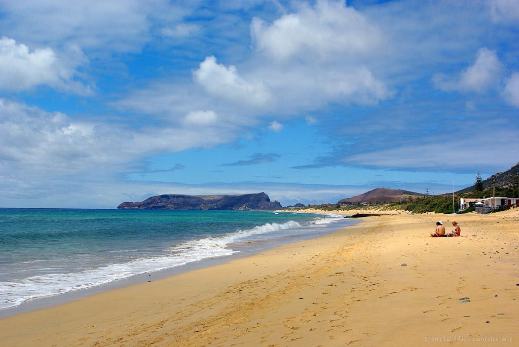 Пляж острова Порту-Санту в Португалии, фото 2