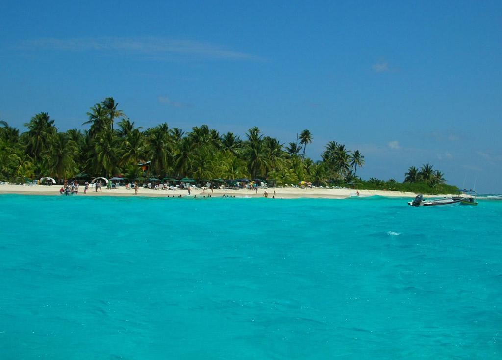 Пляж острова Сан-Андрес в Колумбии, фото 4