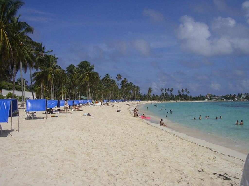 Пляж острова Сан-Андрес в Колумбии, фото 7