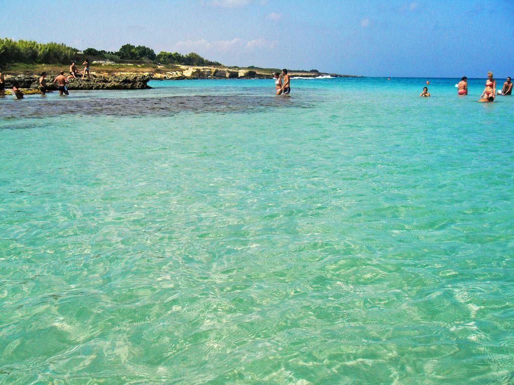 Пляж Отранто в Италии, фото 3