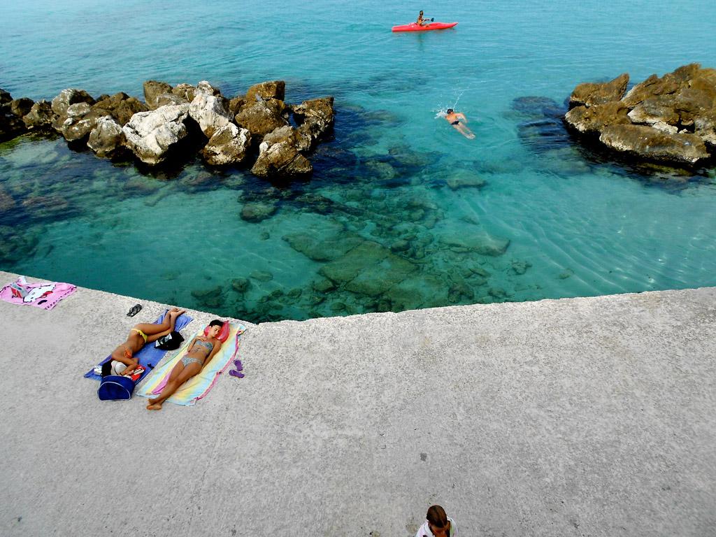 Пляж Отранто в Италии, фото 6