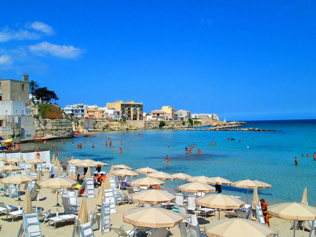Пляж Отранто в Италии, фото 9
