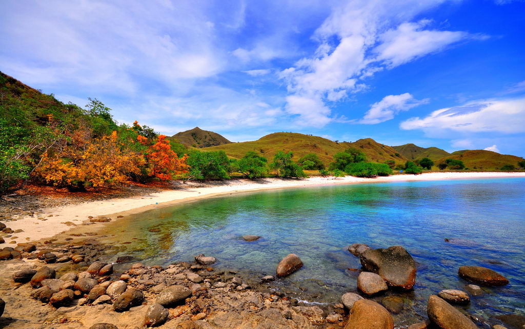 Пляж Пинк Бич в Индонезии, фото 2