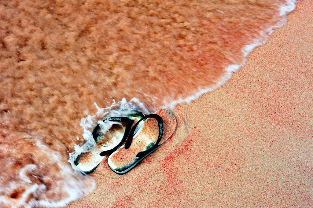 Пляж Пинк Бич в Индонезии, фото 6
