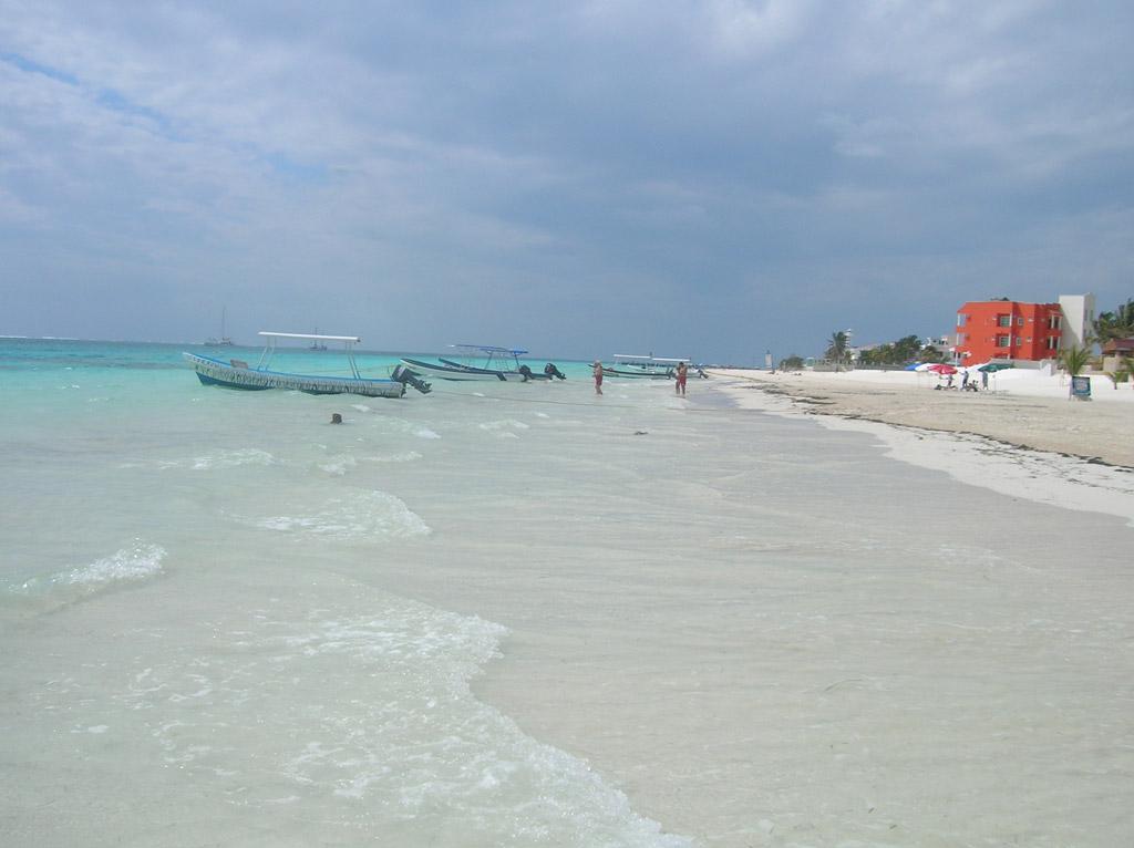 Пляж Пуэрто-Морелос в Мексике, фото 1