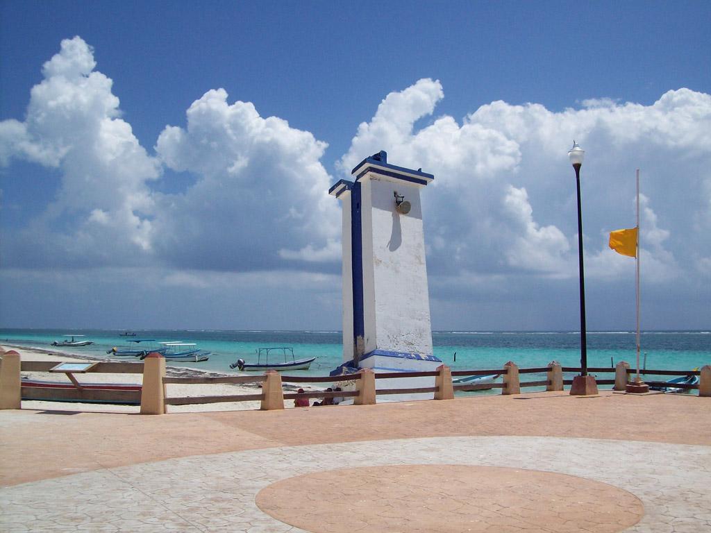 Пляж Пуэрто-Морелос в Мексике, фото 2