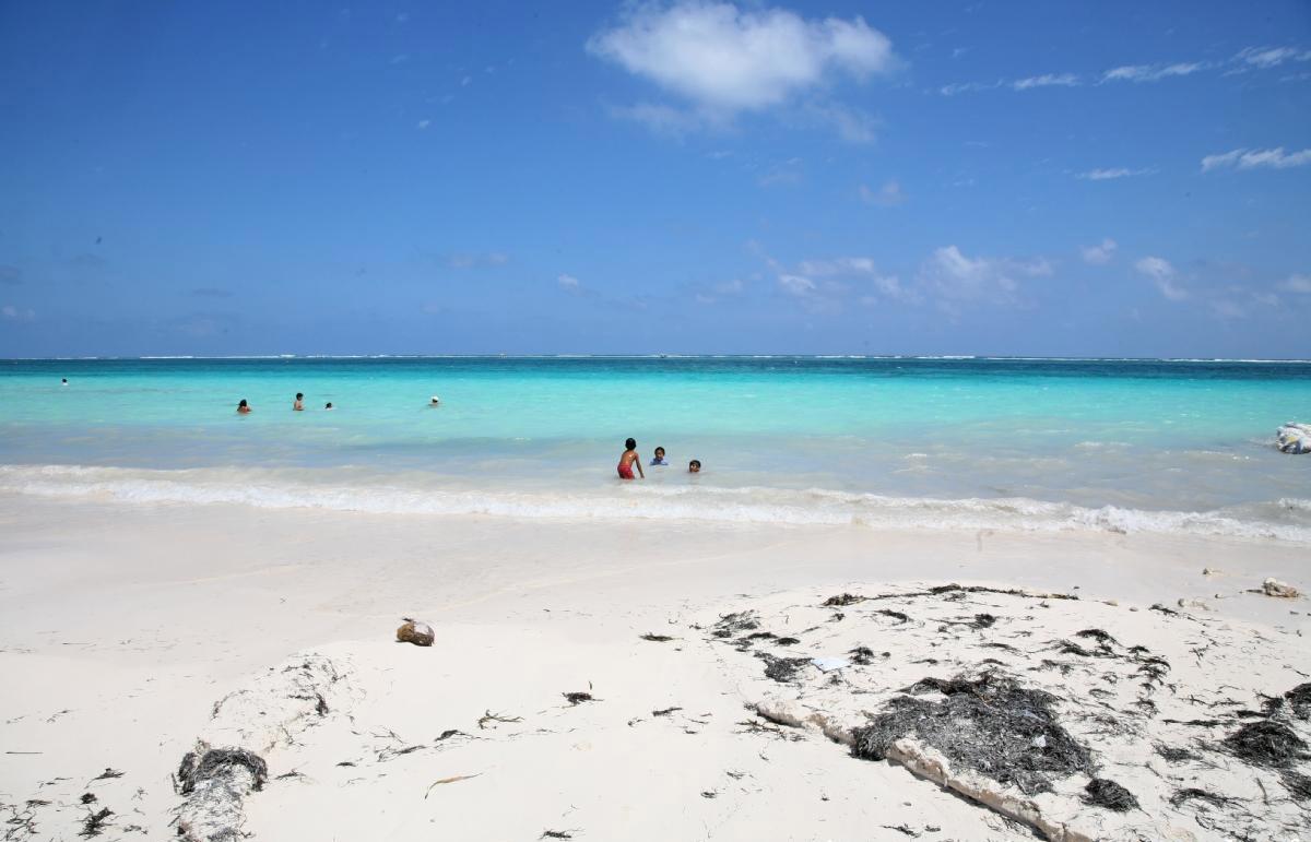 Пляж Пуэрто-Морелос в Мексике, фото 3