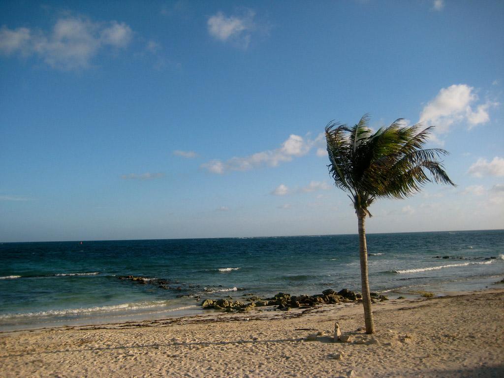 Пляж Пуэрто-Морелос в Мексике, фото 4