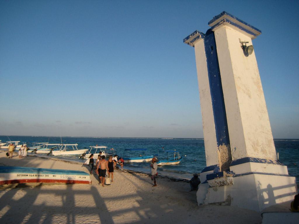 Пляж Пуэрто-Морелос в Мексике, фото 8