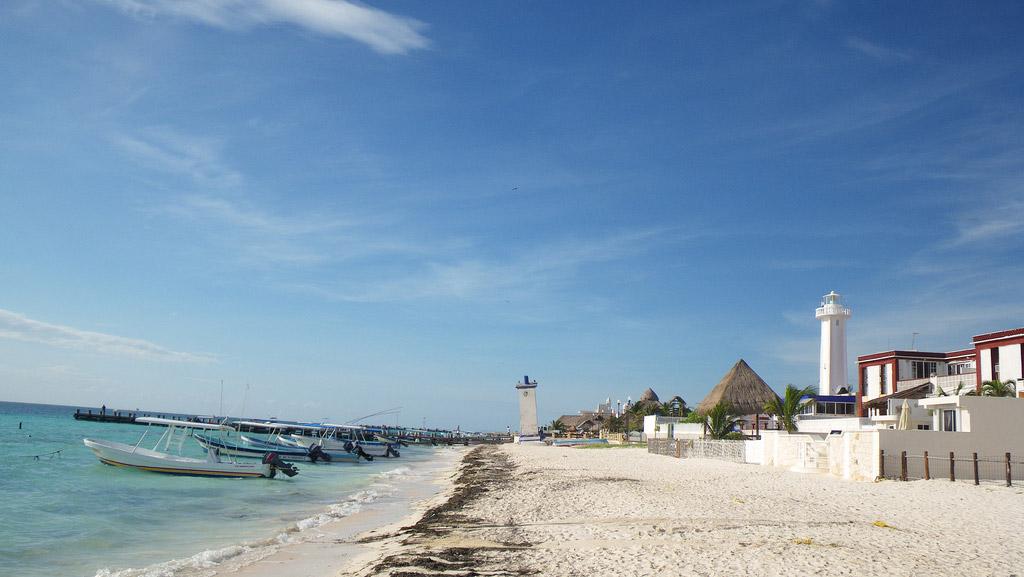 Пляж Пуэрто-Морелос в Мексике, фото 10