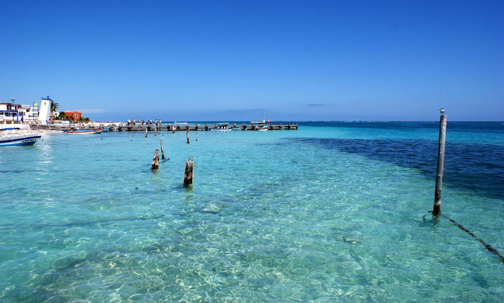 Пляж Пуэрто-Морелос в Мексике, фото 14