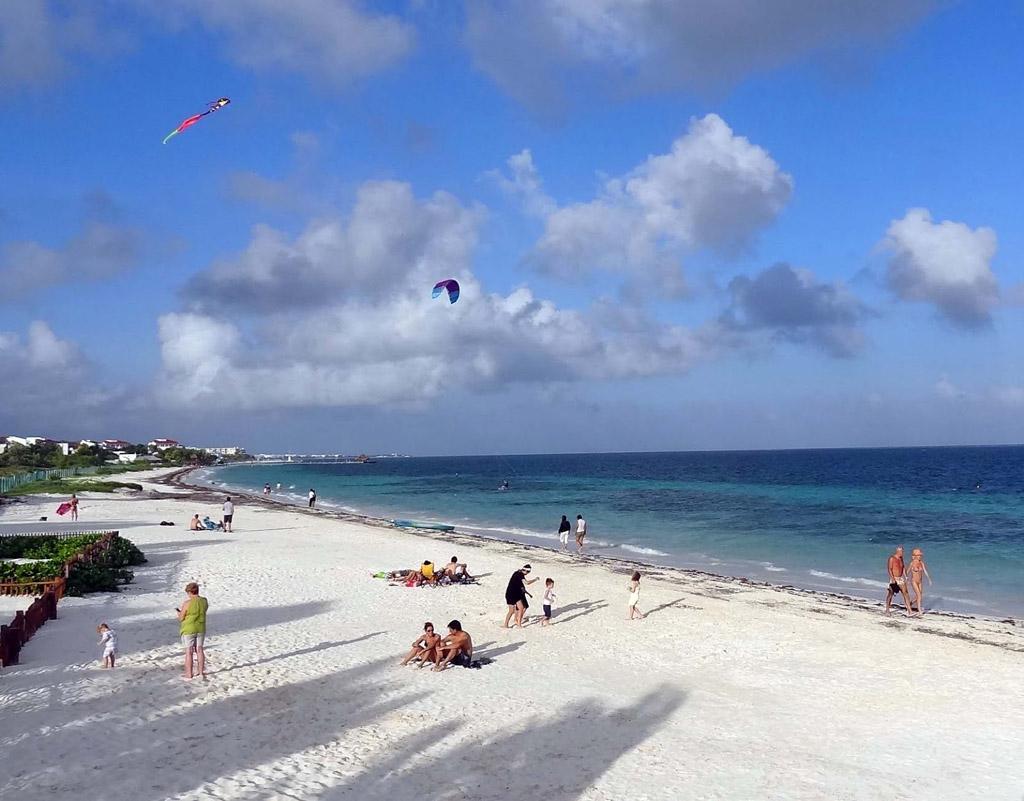 Пляж Пуэрто-Морелос в Мексике, фото 15