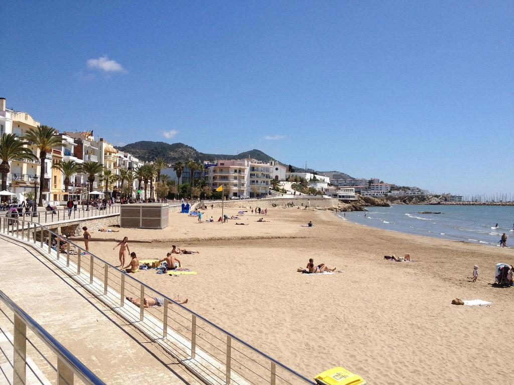 Пляж Ситжес в Испании, фото 1