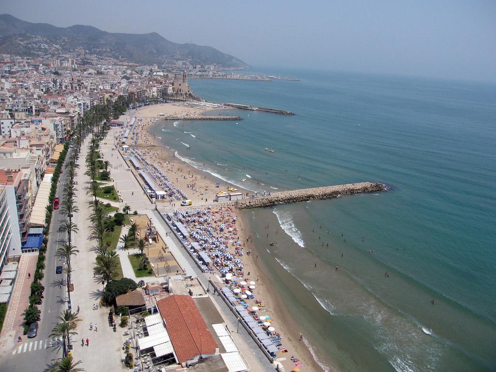 Пляж Ситжес в Испании, фото 2