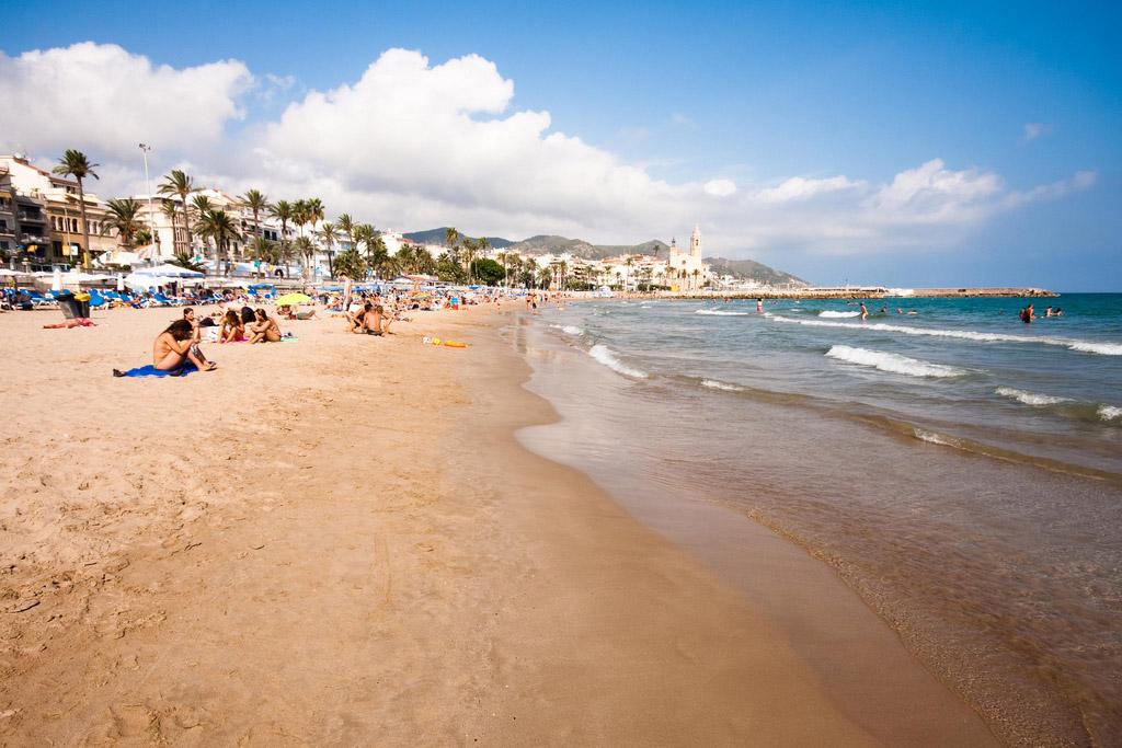 Пляж Ситжес в Испании, фото 5