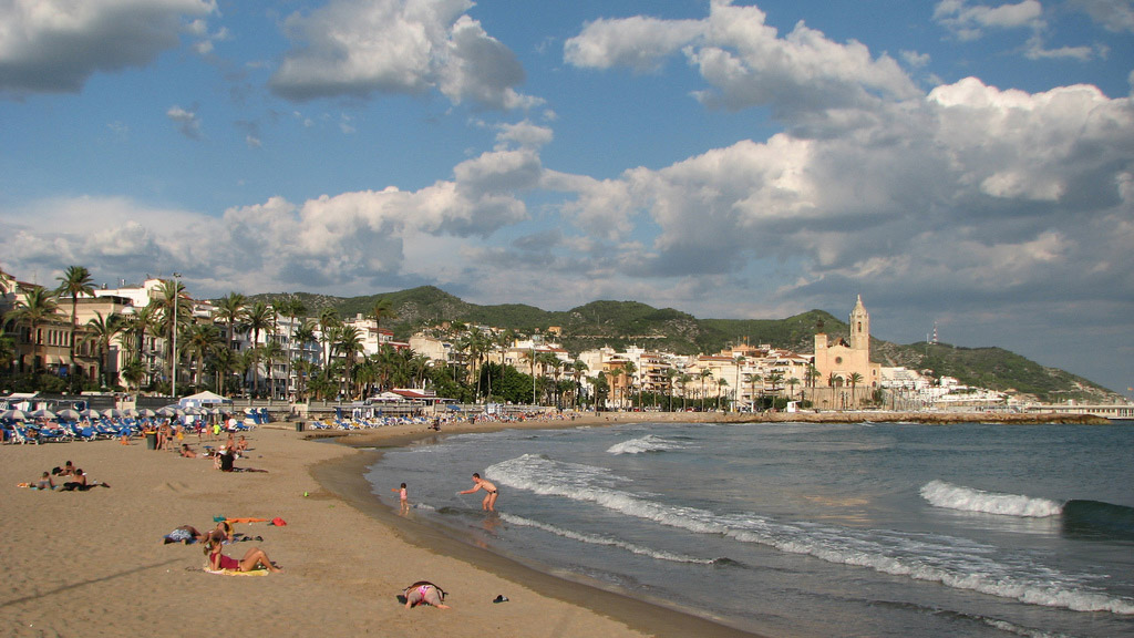 Пляж Ситжес в Испании, фото 6