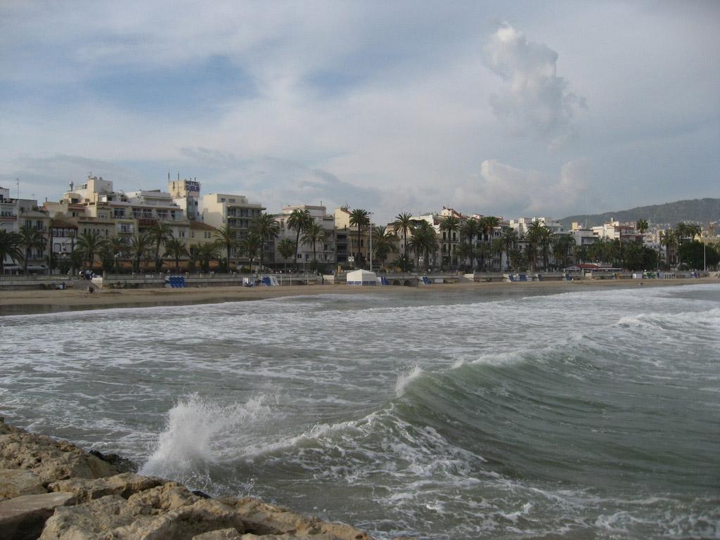 Пляж Ситжес в Испании, фото 7