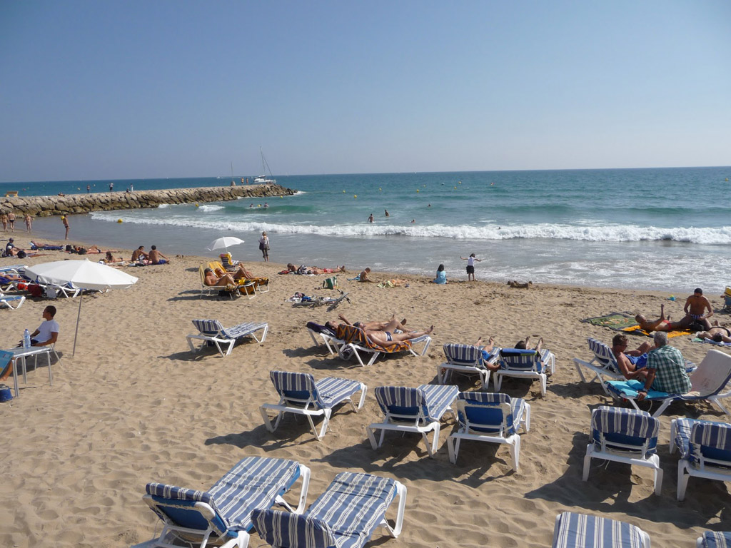 Пляж Ситжес в Испании, фото 9