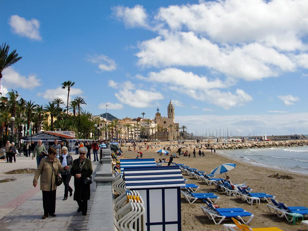 Пляж Ситжес в Испании, фото 13