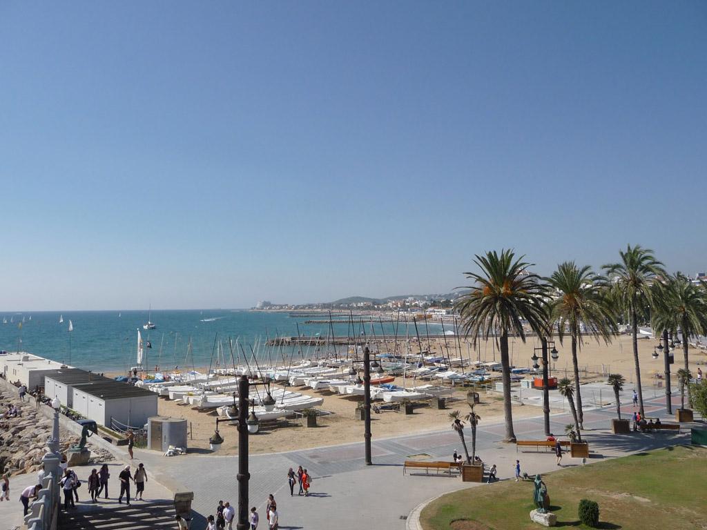 Пляж Ситжес в Испании, фото 14