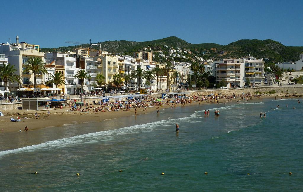 Пляж Ситжес в Испании, фото 15