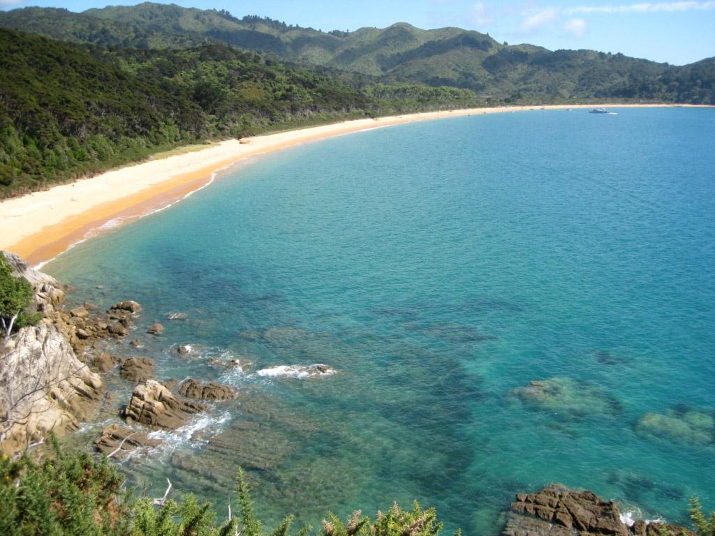 Пляж Тотарануи в Новой Зеландии, фото 1