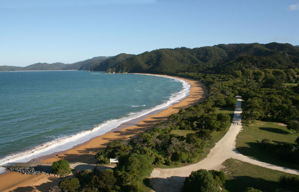 Пляж Тотарануи в Новой Зеландии, фото 3