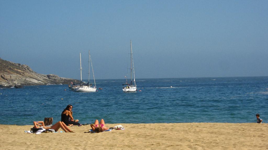 Пляж Запаллар в Чили, фото 1