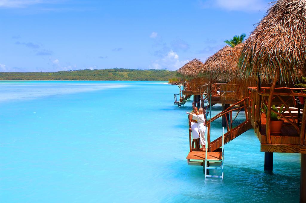 Пляж Аитутаки на островах Кука, фото 1