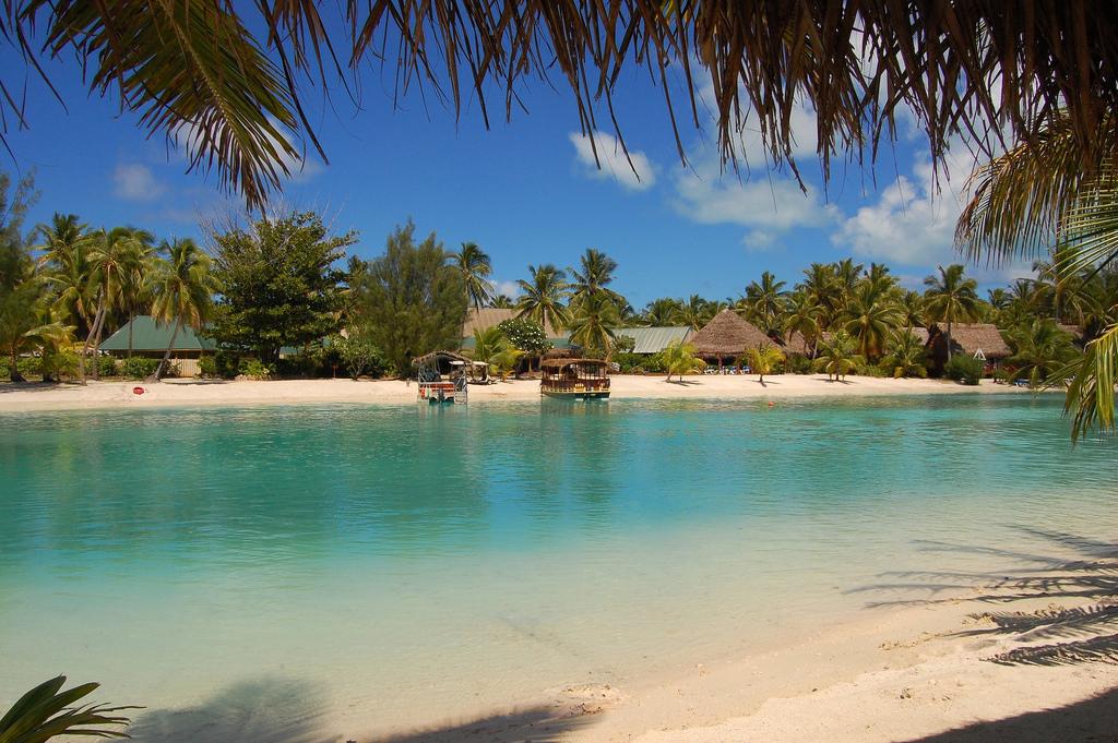 Пляж Аитутаки на островах Кука, фото 4