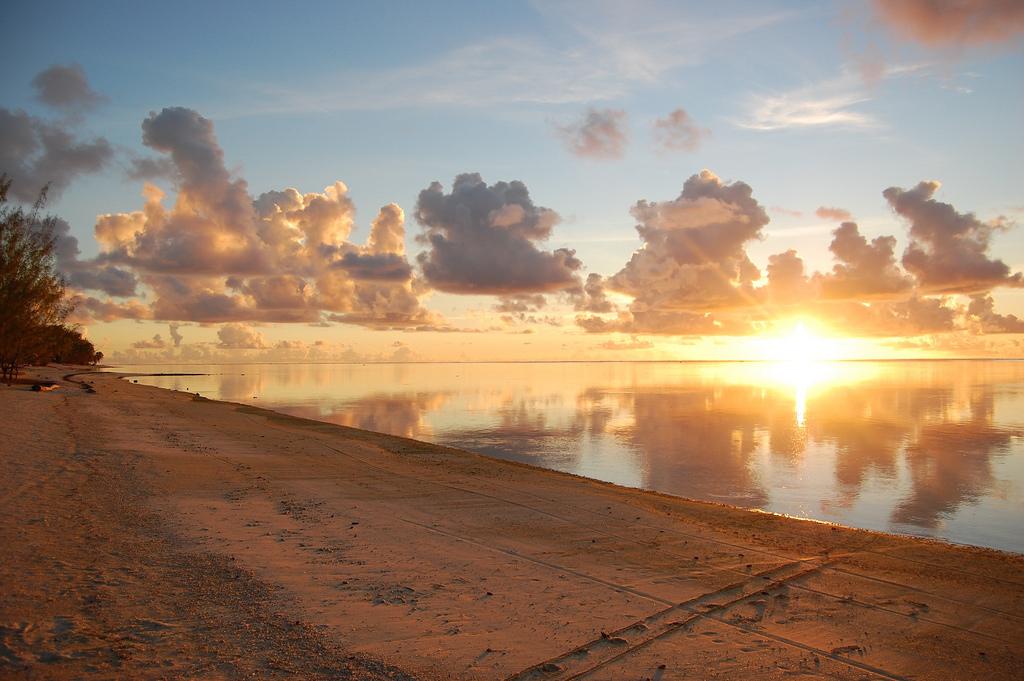 Пляж Аитутаки на островах Кука, фото 6